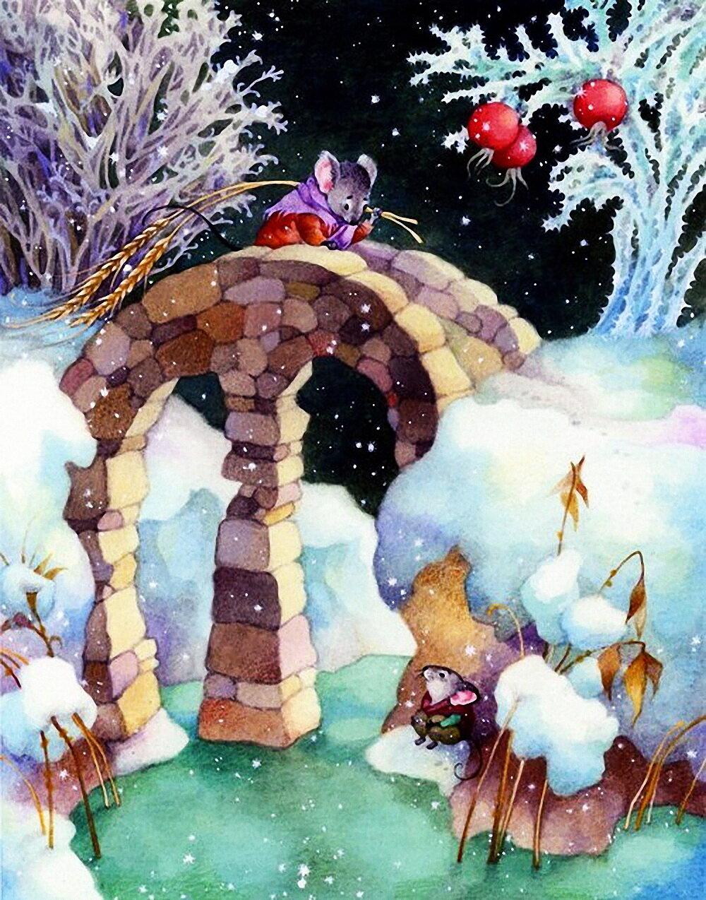 общем красивые картинки из сказок о зиме променад был максимально