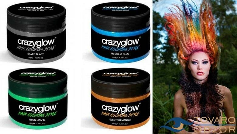Crazyglow - крем для окрашивания волос в Омске