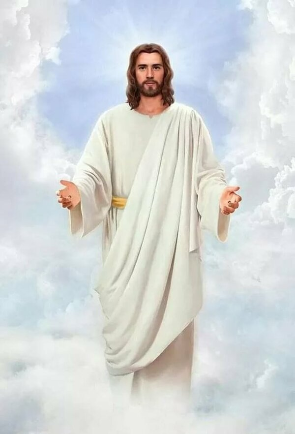 большая картинка иисуса христа когда папа