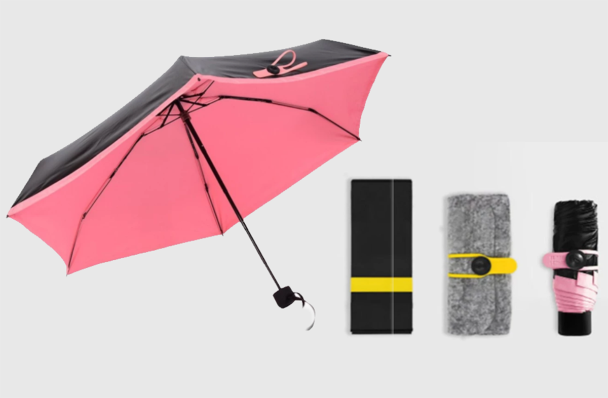 Универсальный карманный зонтик Mini Pocket Umbrella в Лисичанске