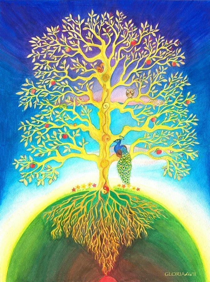Для мамы, дерево жизни картинки по изо