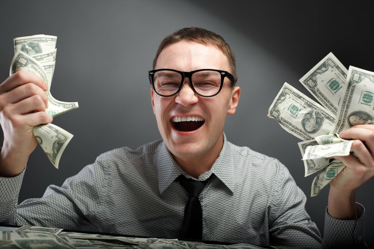 Открыток, смешные картинки люди с деньгами