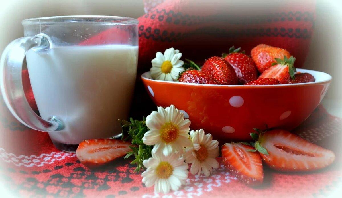 Четвергом прикольная, открытки с молоком и добрым утром