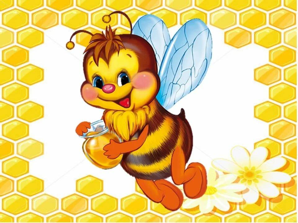 Картинки пчелок для меда