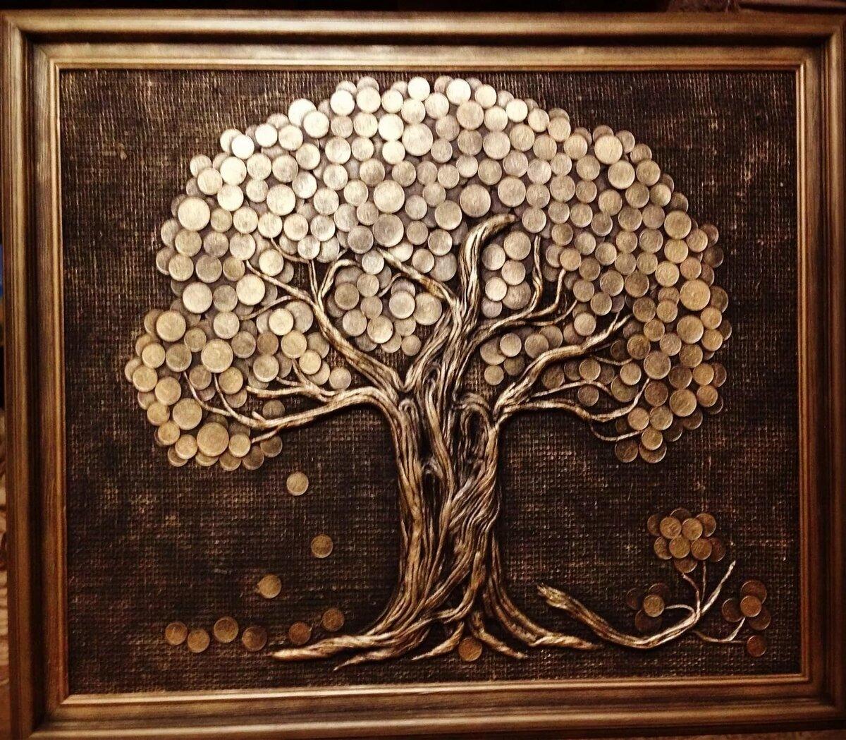 том, что картинки дерево с монетами основному характеру