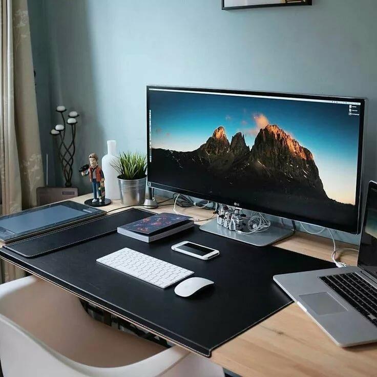 Картинки стол и компьютер