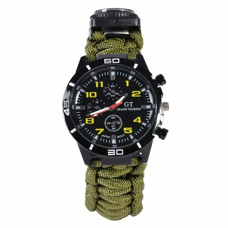 Тактические часы Xinhao Paracord Watch в Спас-Деменске