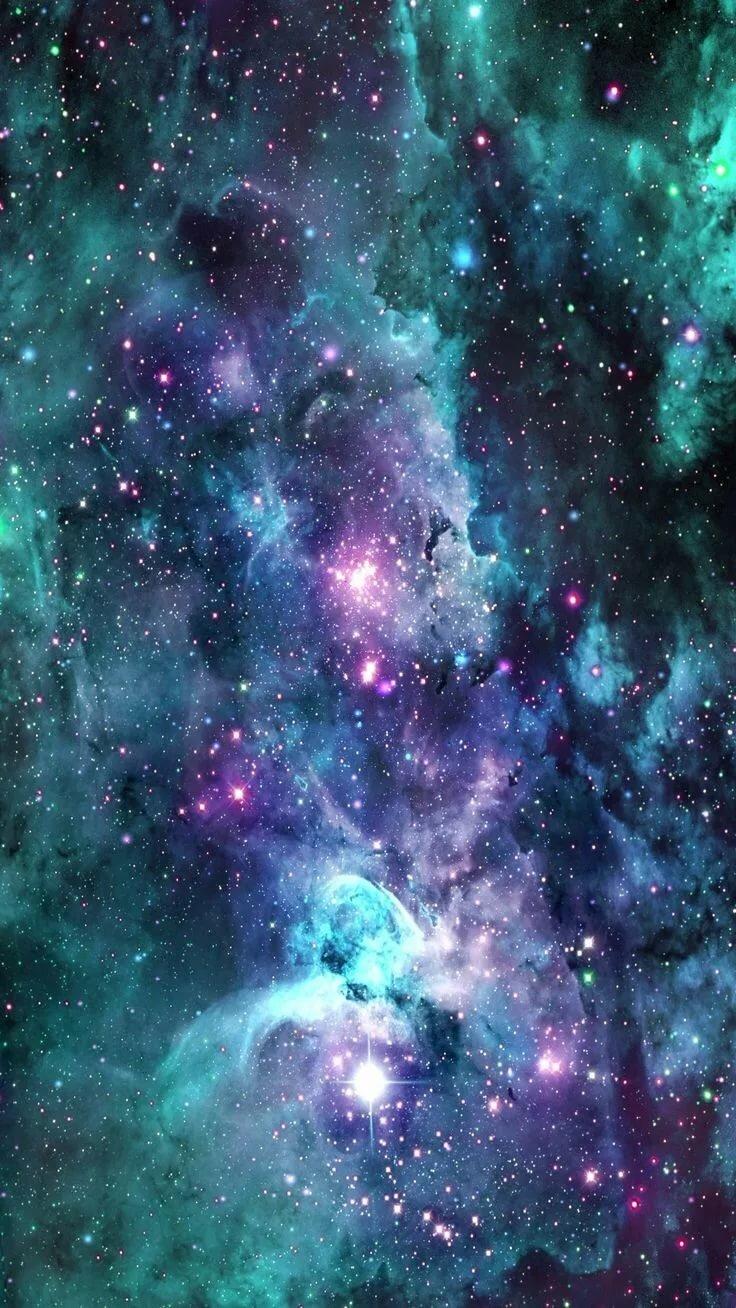 оформление картинки на мой телефон космос завернуть