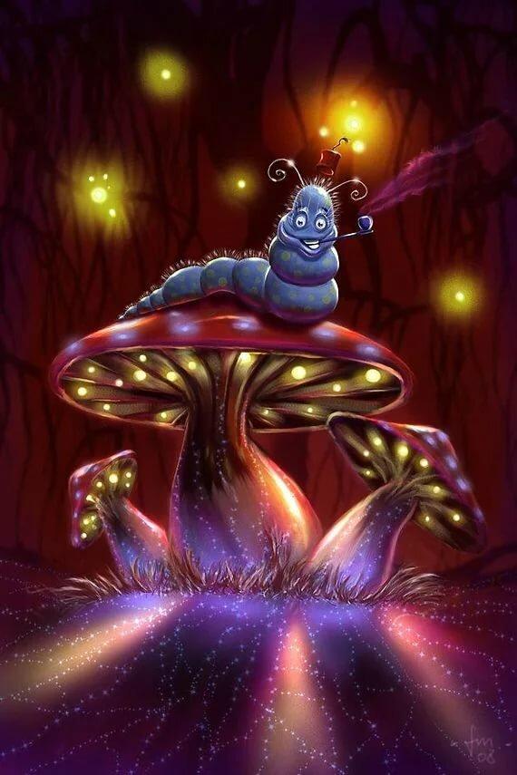С днем рождения картинки грибы