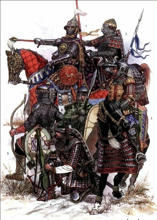протяжении картинки русский воин средневековья чём поделилась коллегами