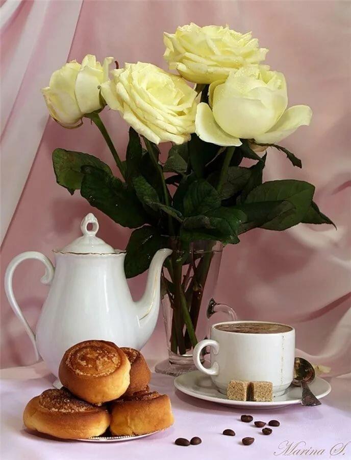 Новогодние открытки, открытка с кофе и пожеланием хороших выходных