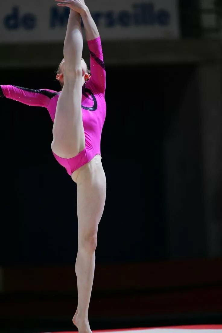 Petite teen gymnast #8