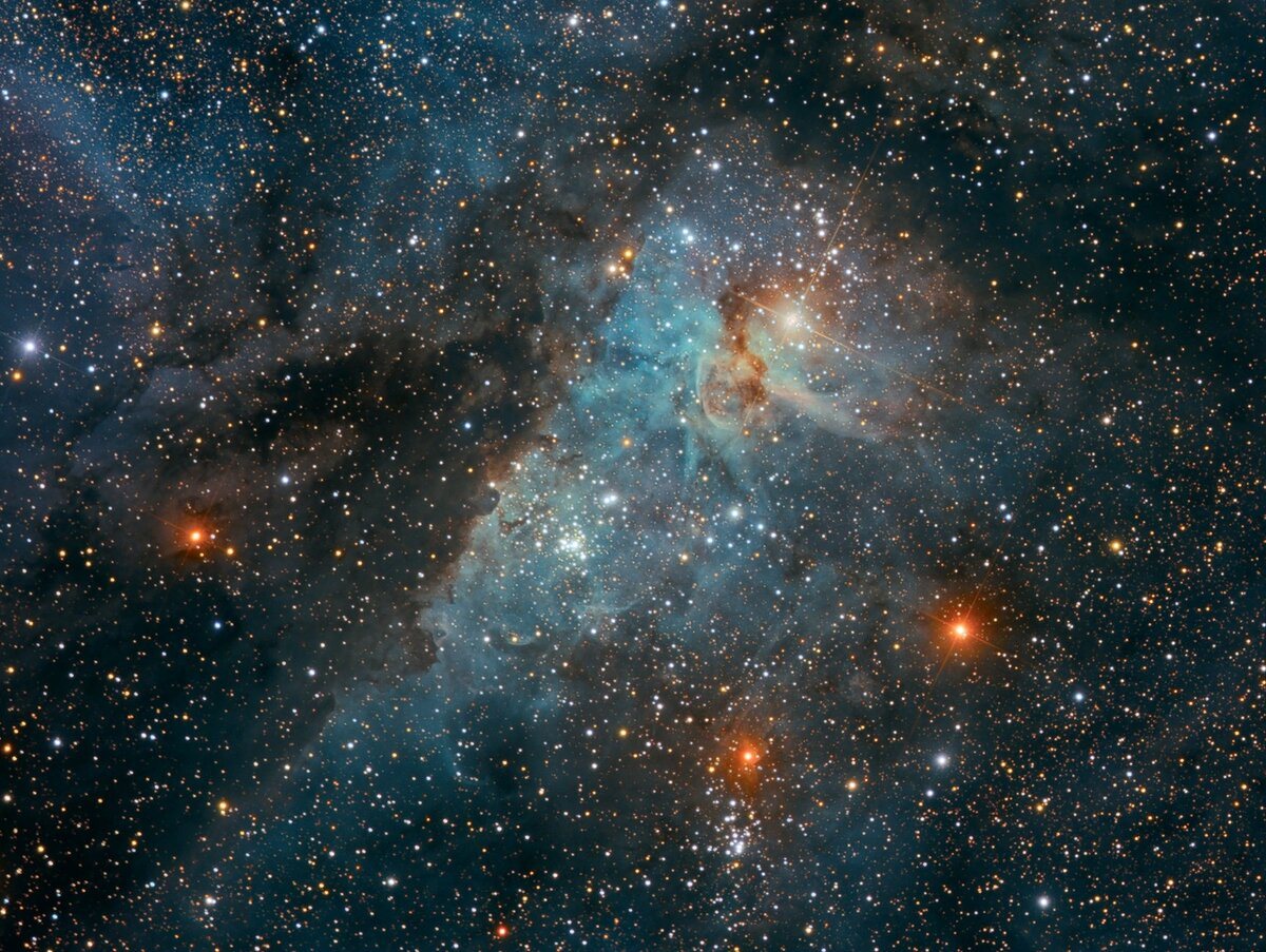 Картинка прикольного космоса поделиться