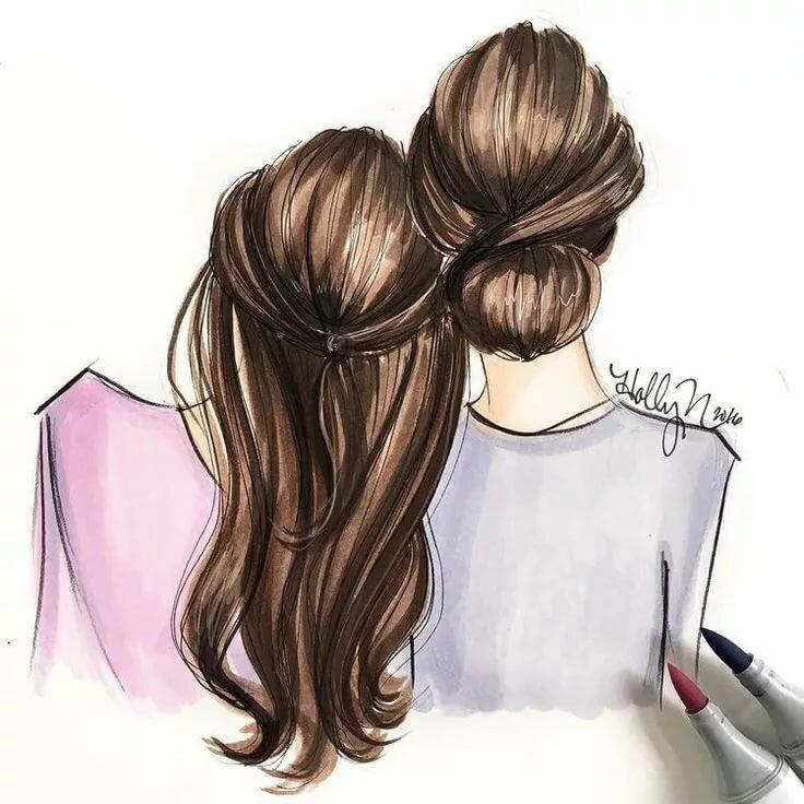 Нарисовать две картинки