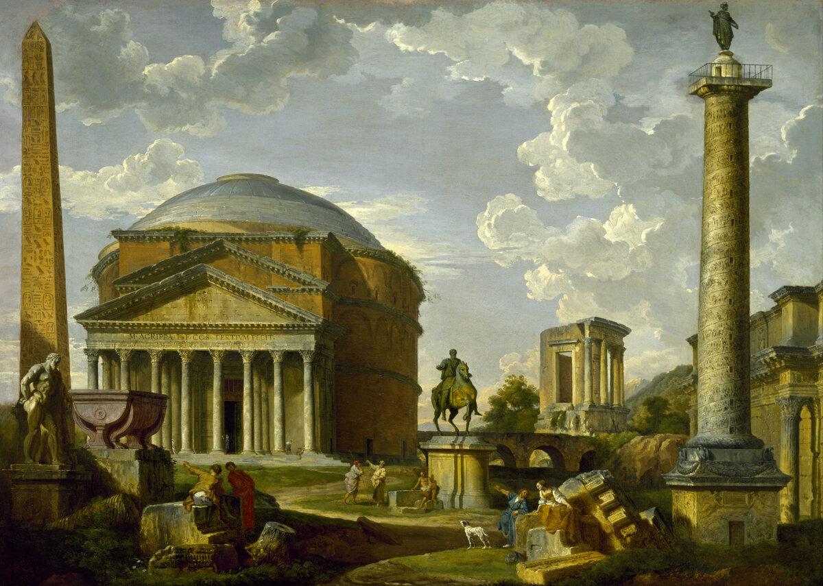Картинка архитектурный пейзаж