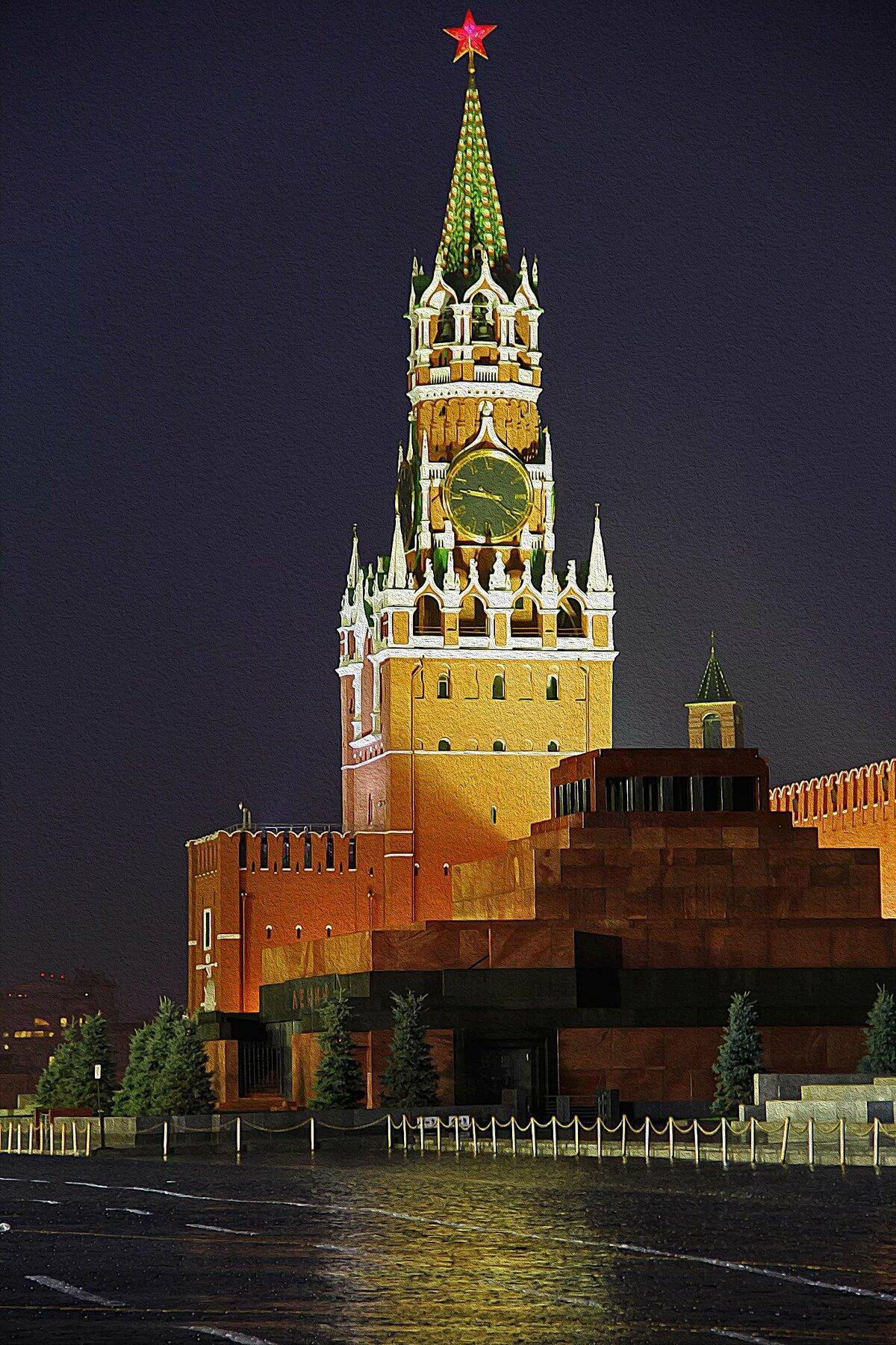 Картинка спасская башня кремля