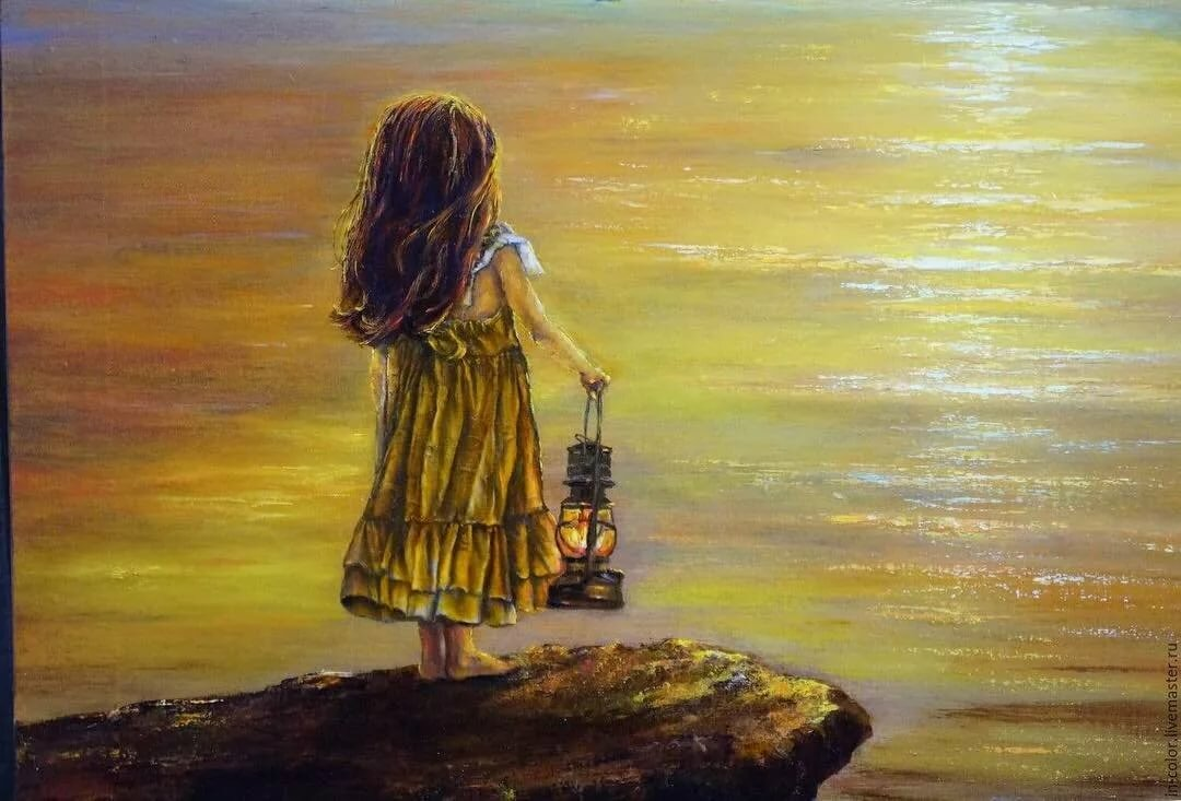 Картинка ждущей девочки