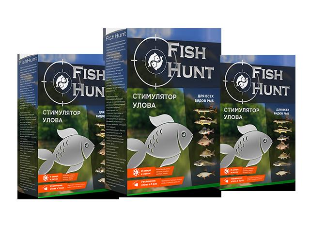 FISH HUNT в Уссурийске