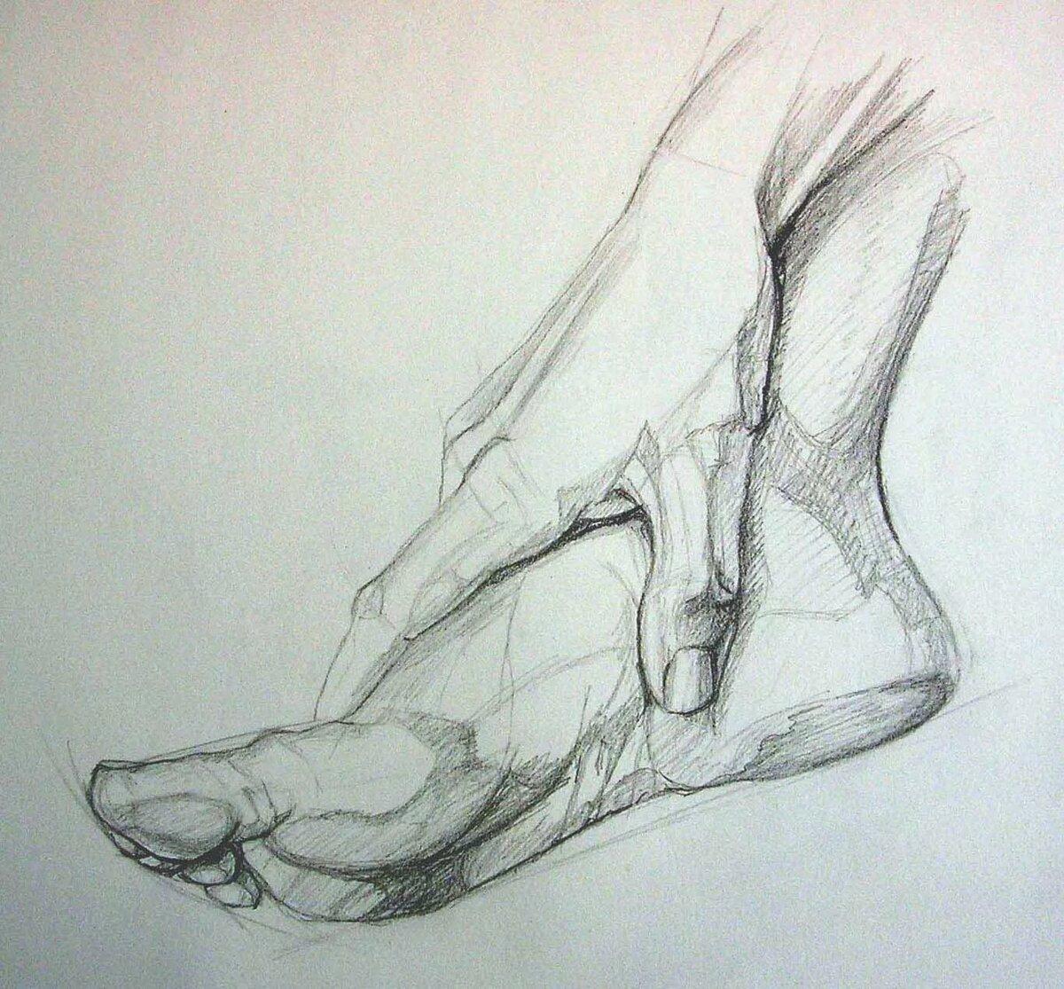 нарисовать картинки ногой историю появления завода