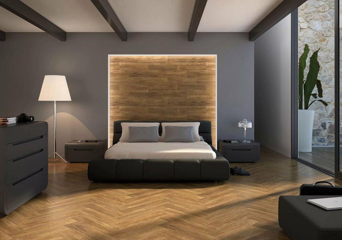 Фото комнаты под дерево спальня