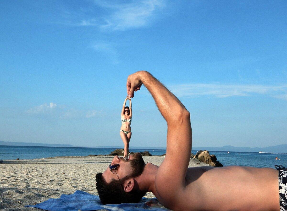 Смешные картинки пляжный отдых