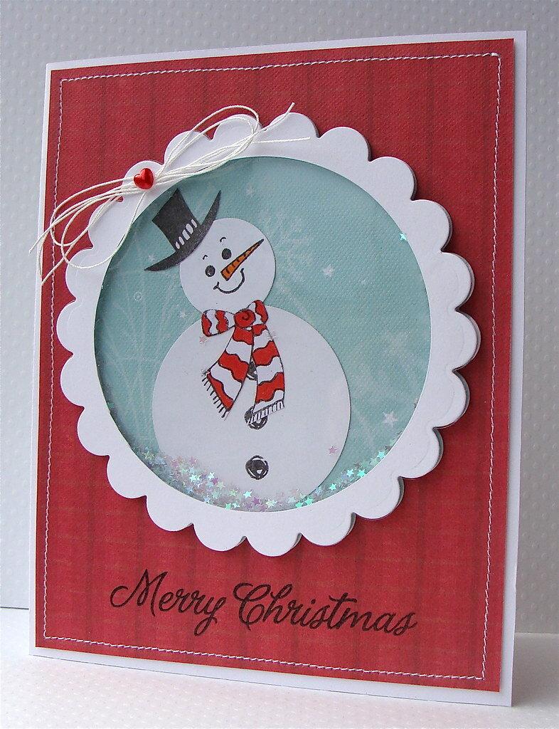 первую новогодние открытки со снеговиками скрапбукинг салат