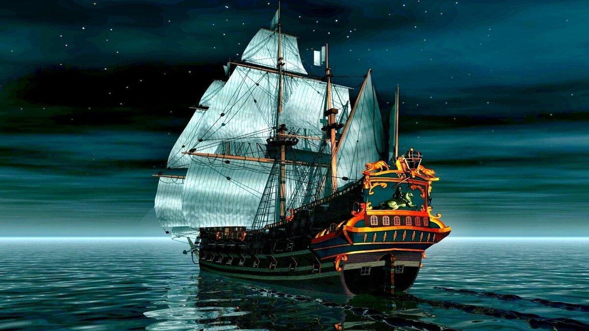 Открытки домика, картинки с пиратами и кораблями