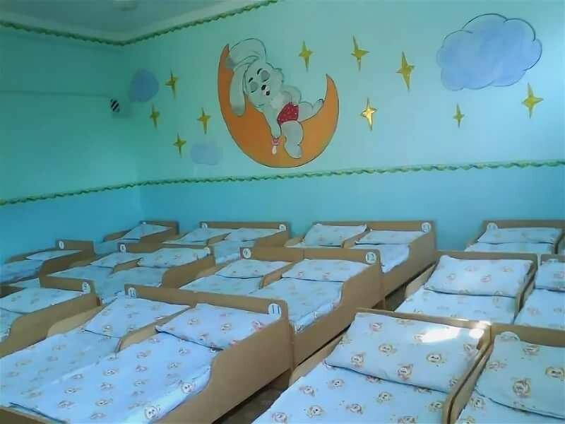 Оформление спальная в детском саду картинки