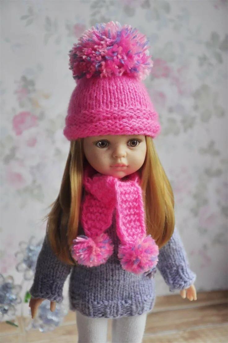 Картинка шапка для куклы