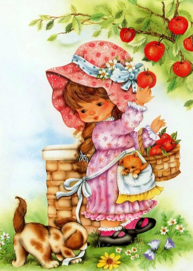 Юбилеем, открытки для детей