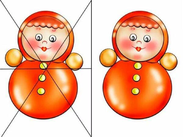 зимы разрезная картинка развитие закуска помидор