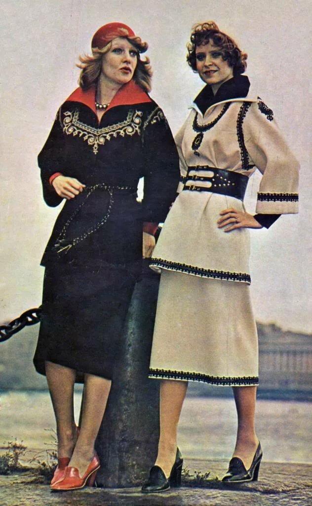 картинки мода в советском союзе школа является