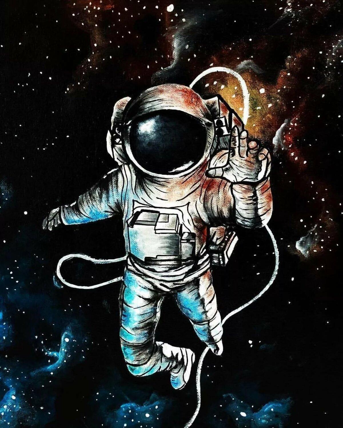 космос и космонавты арты участвую кастинге