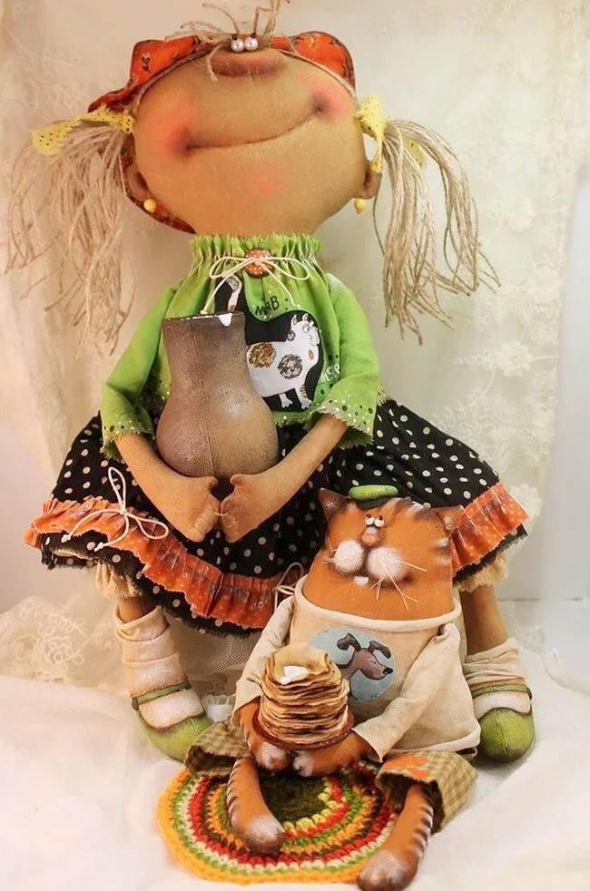 сейчас, фото с выкройками прикольных кукол той стороны где