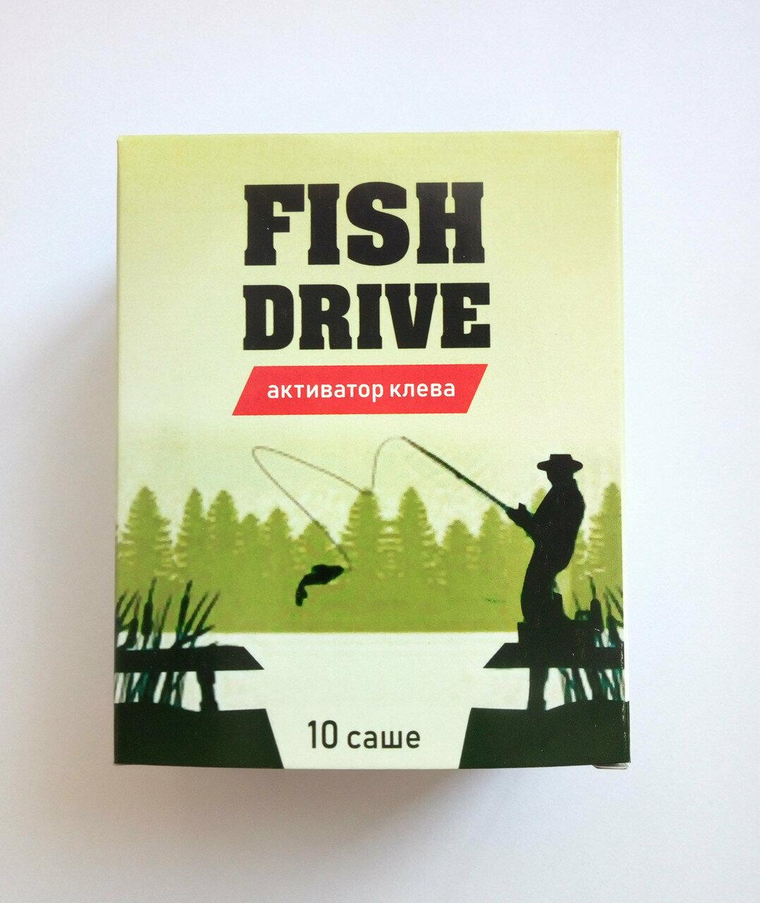 Fish Drive - активатор клёва в Новотроицке