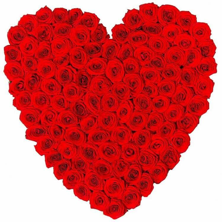 Сердце из сердец картинки