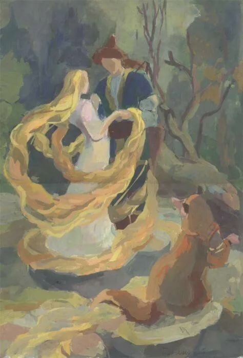 Картинки золотой волос бажова