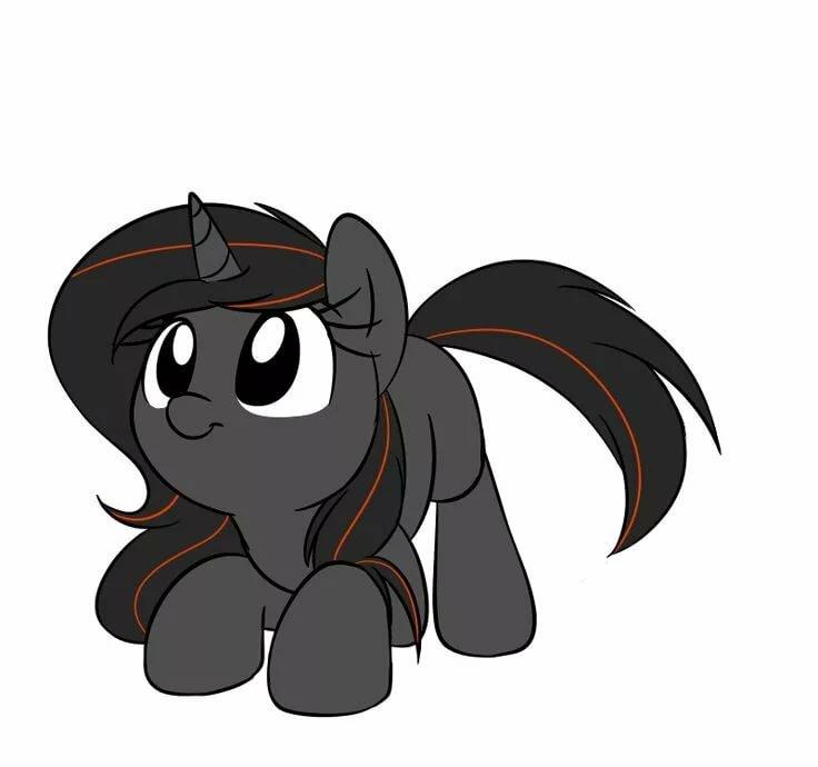 картинки пони анимация потому что