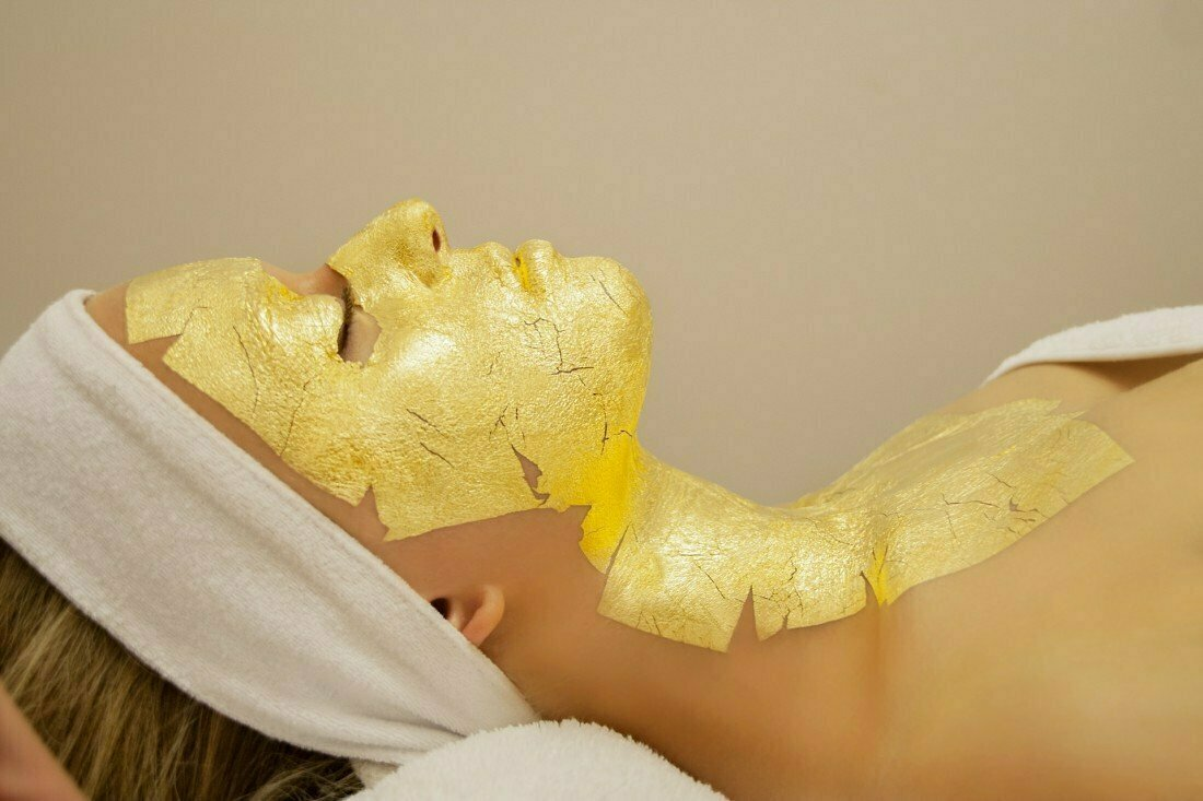 Kaprielle - омолаживающая маска из сусального золота в Броварах