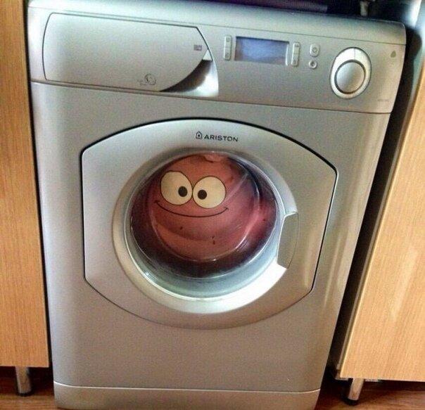 Картинки стиральная машина прикольные