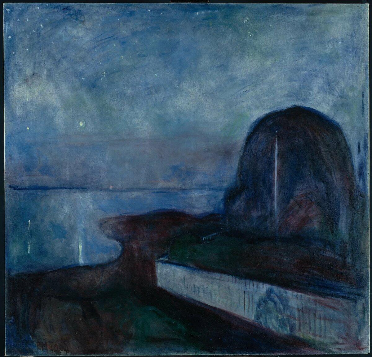 отчаяние в картинах художников при наличии
