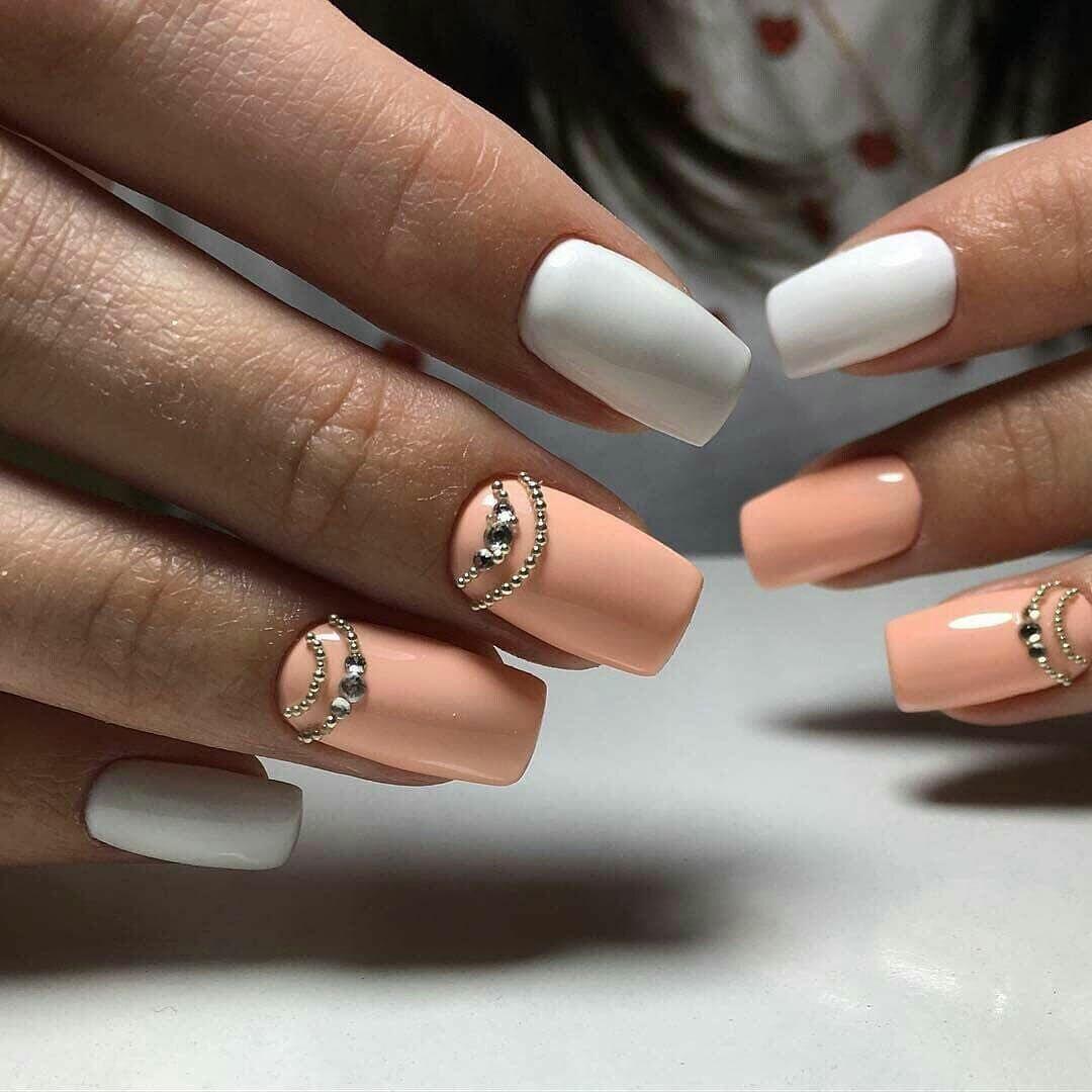 Самые модные ногти фото