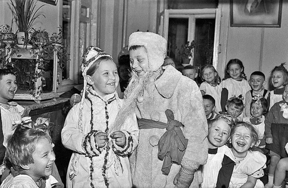 Новогодние традиции  в СССР