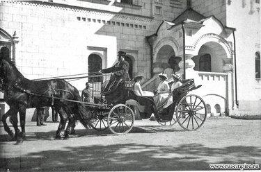 линейка конная повозка