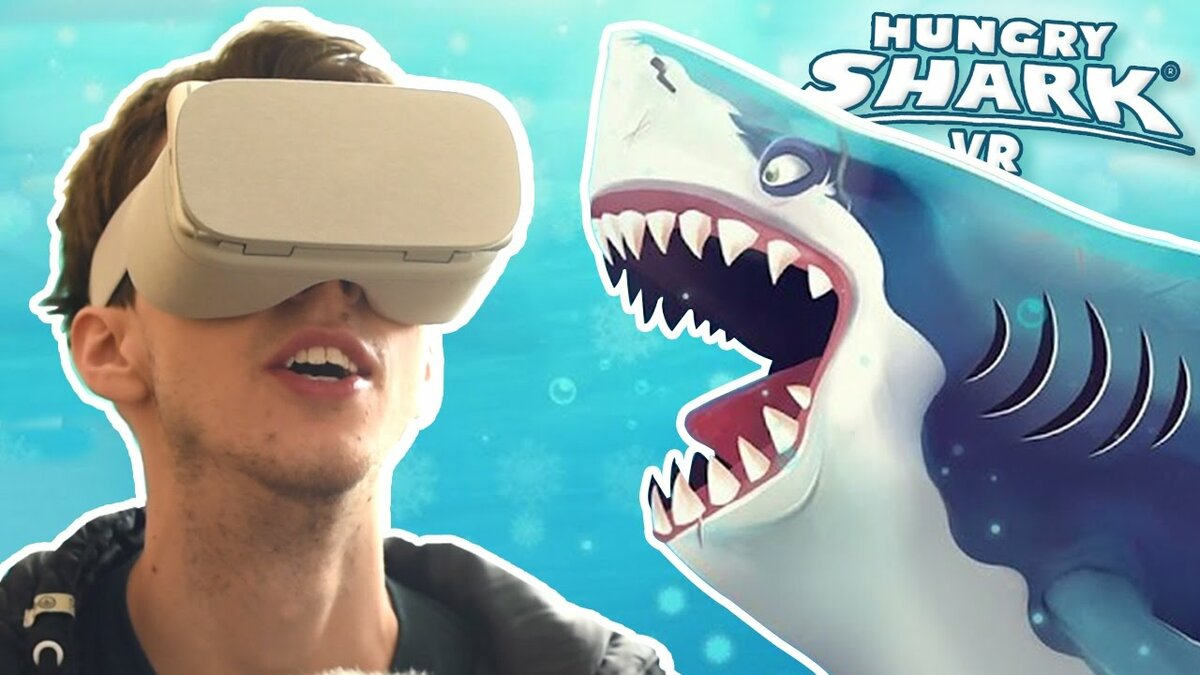 Be the shark in Hungry Sharks newest game Hungry Shark VRGame Here  httpbitlyHSVRYT❤❤❤ For Exclusive Updates you can find them all here❤ Merchandise Here  httpbitly2lFxVkn❤ Facebook