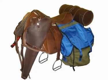 охотничье седло для лошади