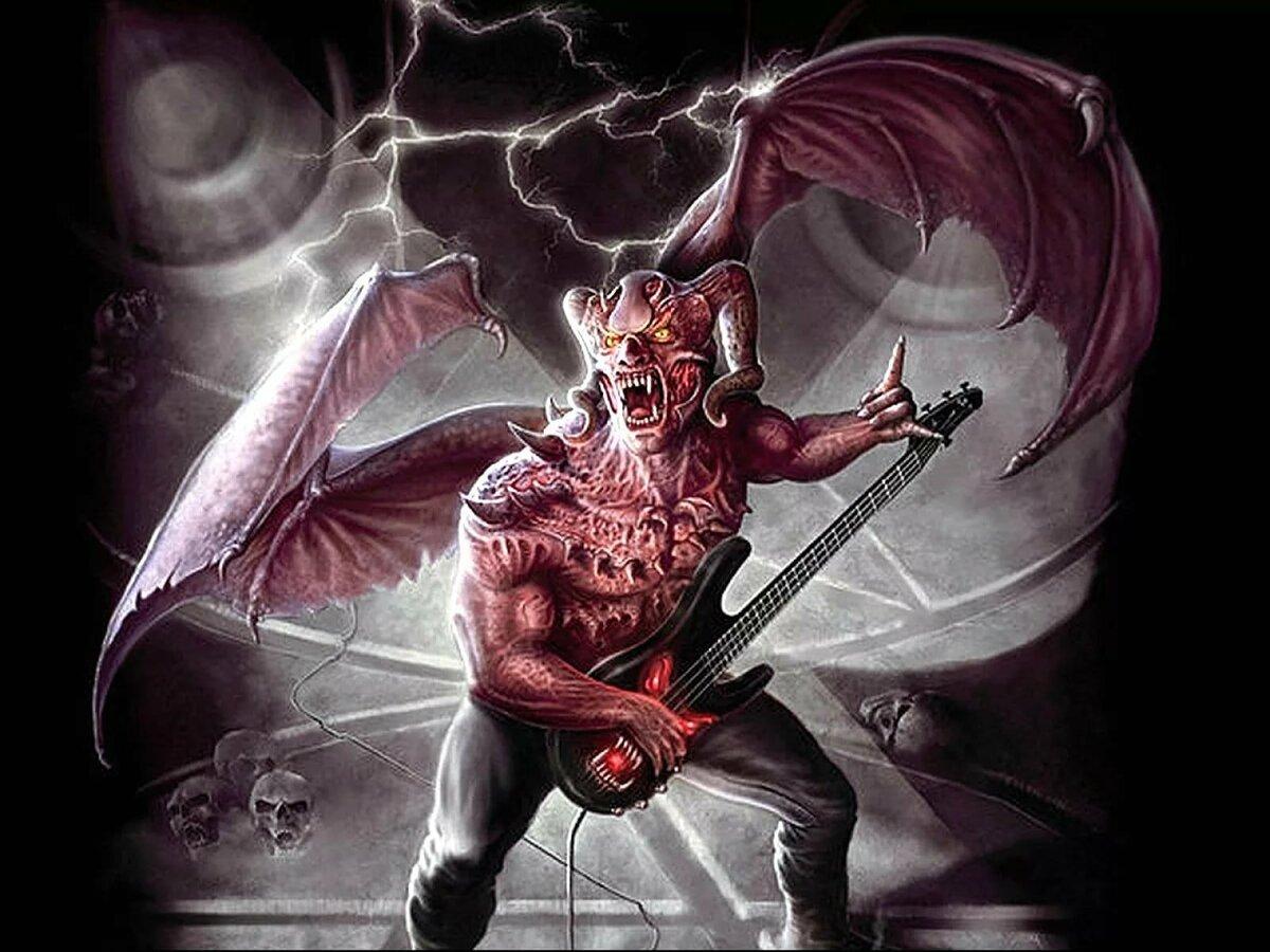 Картинки на дьявольскую тему