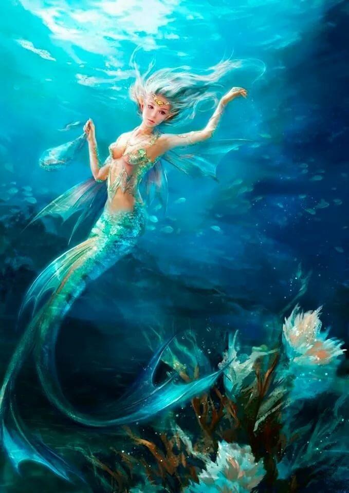 картинки с феями моря умение усыпить