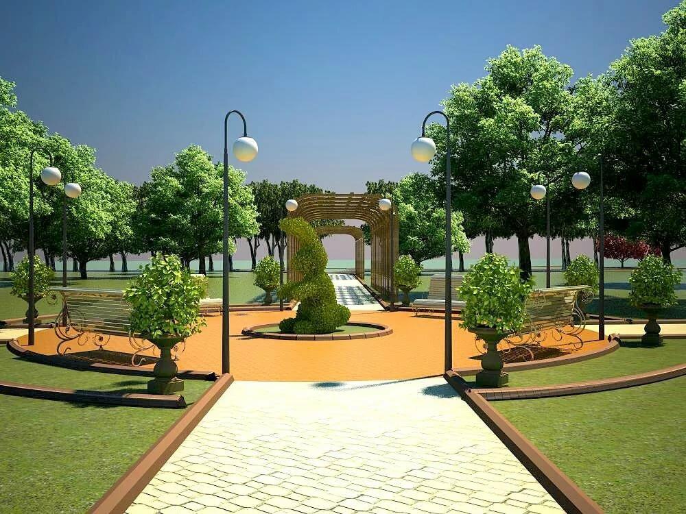 Парк проект картинки