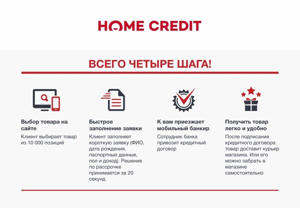Товар в кредит онлайн заявка кредиты онлайн заявки во все банки сайты